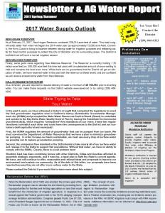 SEWD Newsletter