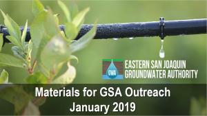 GSA Outreach Materials