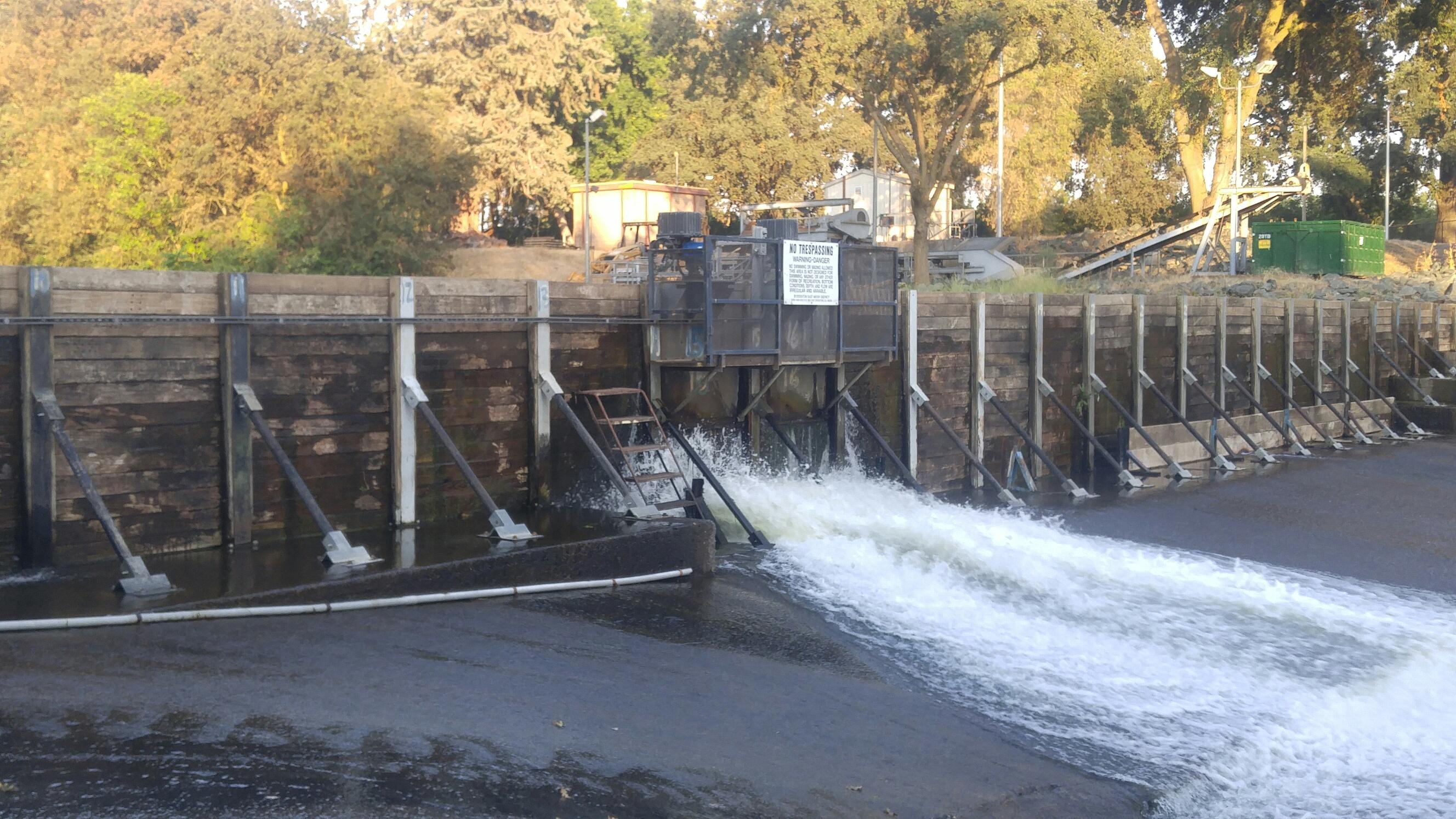 Irrigation Dam Installation/Removal Schedule