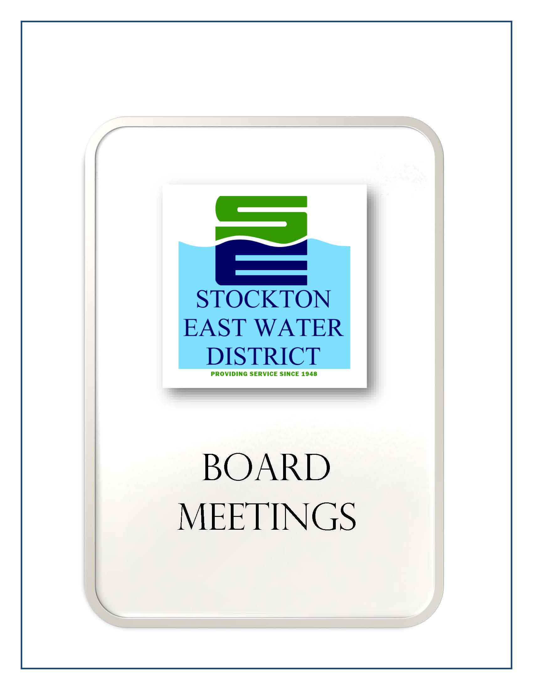 Current Board Agenda